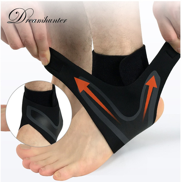 Ankle Brace Supports Straps Bandage Wrap Foot Safety 1 pcs Compression Ankle Protectors Anti Sprain Outdoor Basketball Football #203200