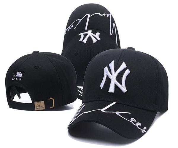 2019 Fashion NY Snapback Berretti da baseball Molti colori Berretto con visiera Nuovo osso regolabile Snapbacks Cappelli sportivi per gli uomini Trasporto di goccia libero Ordine della miscela