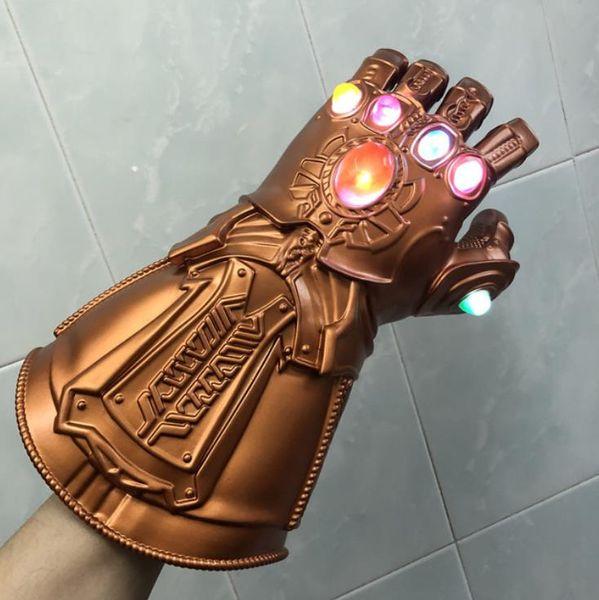 LED Licht Thanos Unendlichkeit Gauntlet Avengers Unendlichkeit Krieg Cosplay LED Handschuhe Geschenk Kostüm Halloween Requisiten