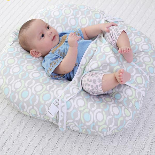 Baby Crib Newborn Mat Feeding Pad Infant Bedding Sleep Crib Nursing Pillow Prevention of Vomiting Soft Seat