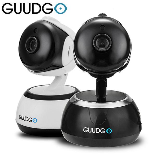 GUUDGO GD-SC02 720P Wifi Camcorder Camera Pan&Tilt IR-Cut Night Vision Two-way Audio Support Cloud Storage Service