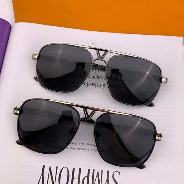 2019 neue Mode hochwertige Italien Stil Sonnenbrillen Verwendung für Strand Reisen fahren Occhiali Da Sole beliebte Designer-Sonnenbrillen mit Box L0026