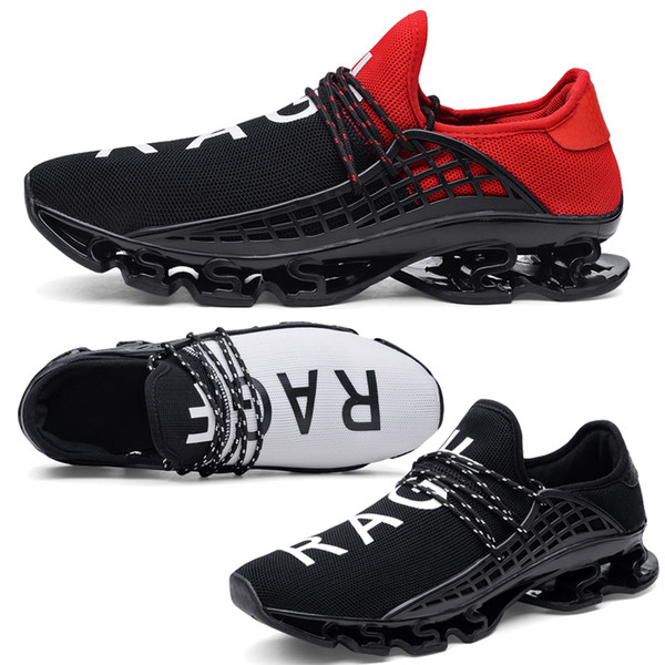 Unisex Men's Sport Running Shoes Lace-up Exercise Couple Sneakers Breathable Mesh Letter Shoes Size 36-48 Sneakers for men