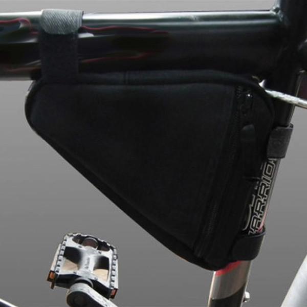 Vendita calda Outdoor Brand New Triangolo Sacchetto della bici della bicicletta Anteriore della bicicletta tubo telaio sacchetto del sacchetto per gli accessori di stoccaggio di sport