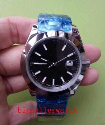 les hommes de montres de luxe le plus vendu Datejust 41mm noir en acier inoxydable Jubilé 126300 Montre Mode automatique Hommes pliant 2813 G mécanique