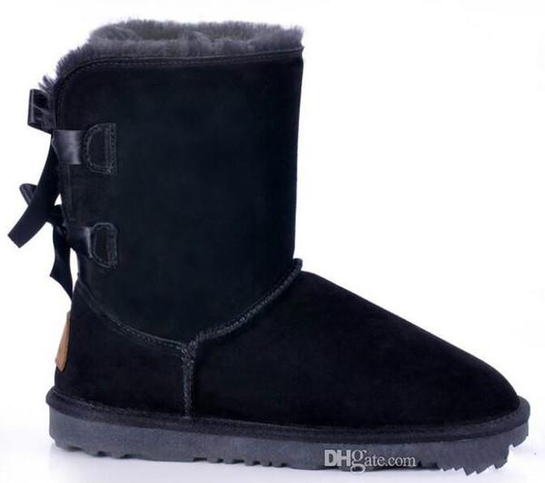 2016 Weihnachten Promotion Womens Stiefel BAILEY BOW Stiefel 2014 neue Schneeschuhe für Frauen