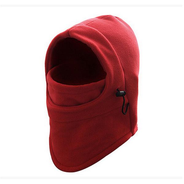 Erkekler Kadınlar Yüz Maskesi Termal Polar Balaclava Hood Swat Rüzgar Kış Stoper Kasketleri Dışarı Kapı Giyim Aksesuarları