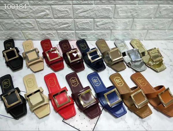 2018 Yaz Yeni Avrupa ve Amerika madam büyük metre sandalet ve Su elmas zincir düz Roma sandalet. Zarif bayanlar sandalet.35-42-No box
