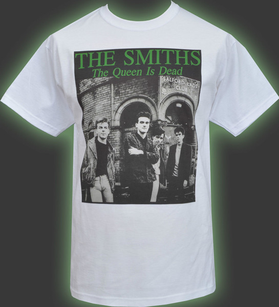 New The Smiths Queen Death Cotton Graphic Black Shirt S to 3XL