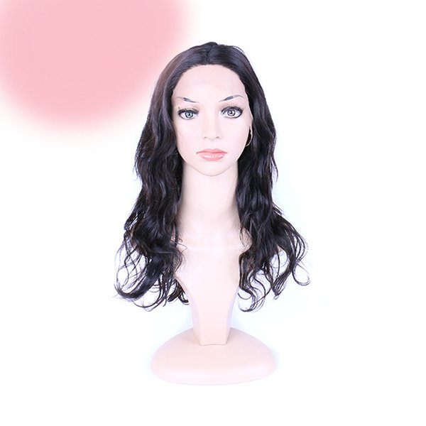 Human Hair Wigs Full/Front Lace Brazilian Malaysian Indian Hair Natural Color Big Curly Remy Virgin Hair Long For Black Women