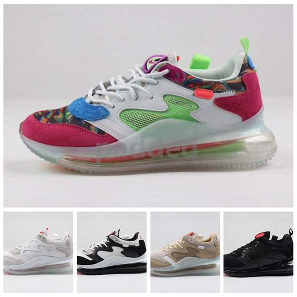 New OBJ Young King of The Drip Desert Ore Multi Colour Hyper Pink Rose 2019 Mens Running Shoes BECKHAM JR Trainer Maxes Sneakers