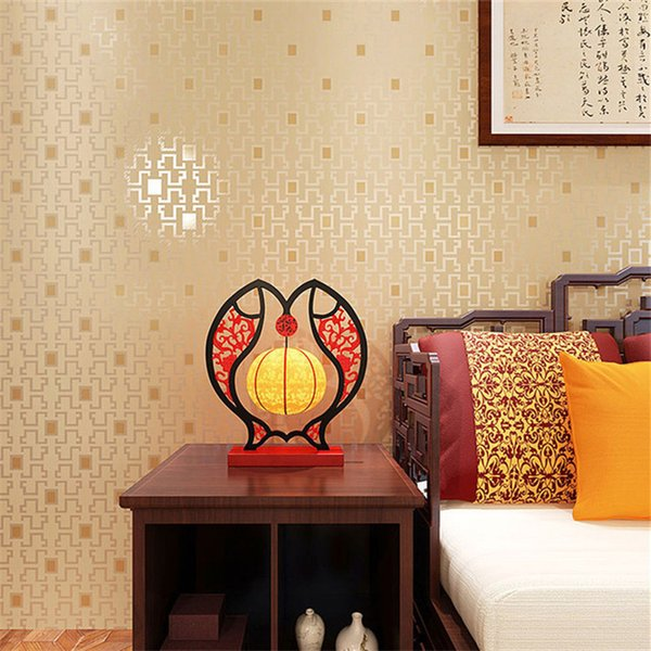 Chinese style high quality wallpaper roll 3d home decoration nature wallpaper hd 3d natural wall paper
