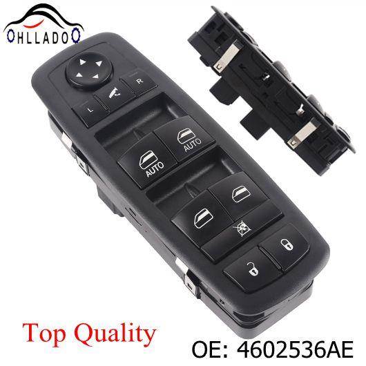 best selling HLLADO Auto Parts 3Pin Master Power Window Mirror Switch 4602536AE For D odge C hrysler Front Left Power Window Switch