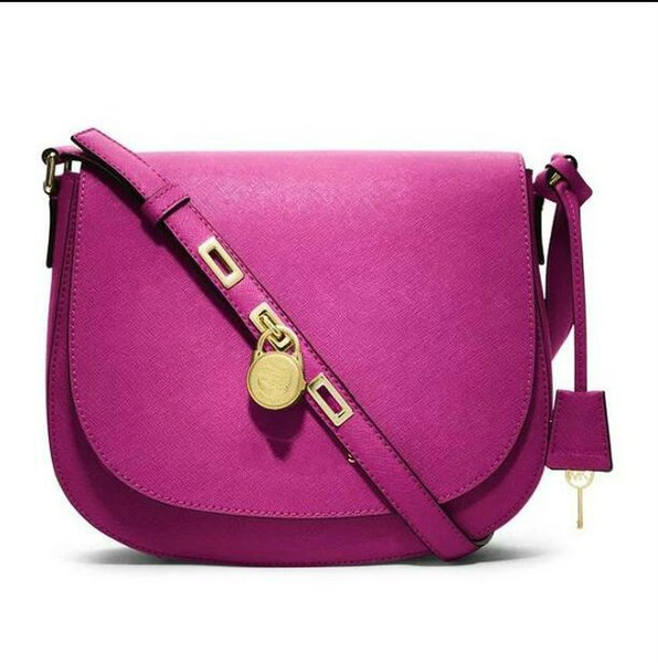 New 2019 Europe and America brand women's handbag Fashion women messenger bag rivet single shoulder bag High quality female bag 881