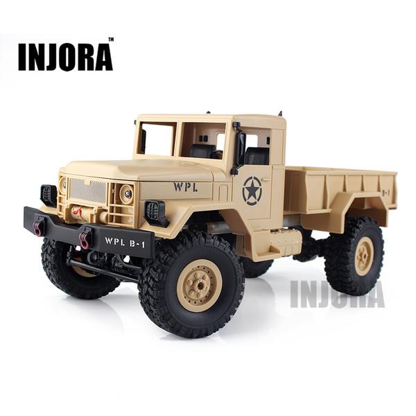 Enfants Jouet 1: 16 Echelle Rc Rock Crawler Off -Road 4wd Camion Militaire Rtr Télécommande Voiture Jouet Pour Enfants