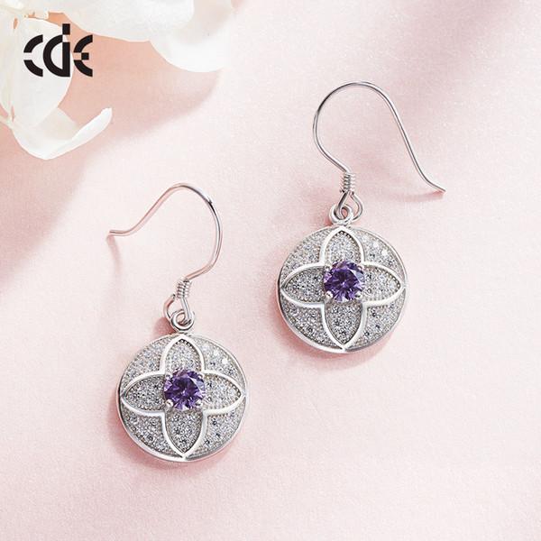 Hochzeitsfeier Silber S925 Perlen Perle Geschenk Frau Dame Diamant Schmuck Ohrring für Braut handeln Initiierung Abschluss CDE-97
