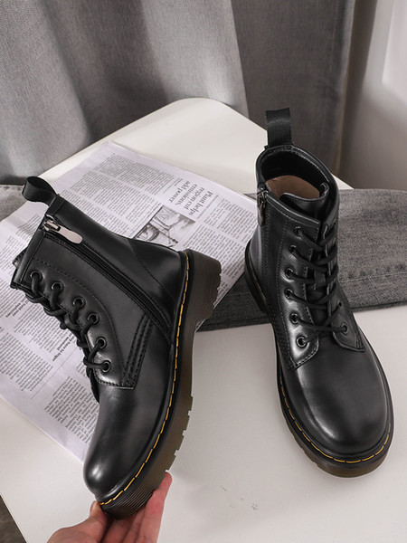 New designer 2019 martin dr martins woman martin boot doc aston mens shoes 1460 boots men sneakers chaussures work sole Leather winter Motor