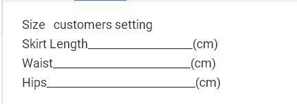 customers setting
