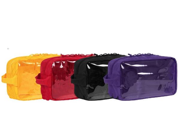 18FW 45th Utility Bag 3M Unisex-Kulturtasche Waschbeutel Transparente Aufbewahrungstasche Multifunktions Männer Frauen Marke Kosmetiktaschen Kulturbeutel Kits