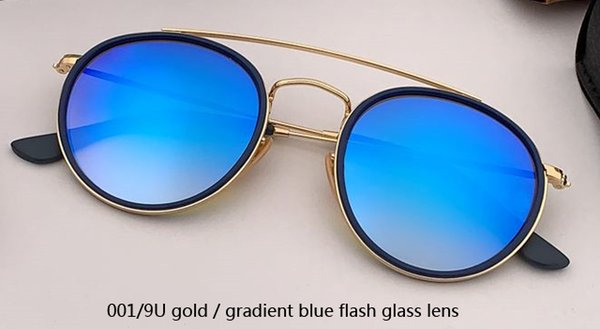 001/9U gold/gradient blue flash