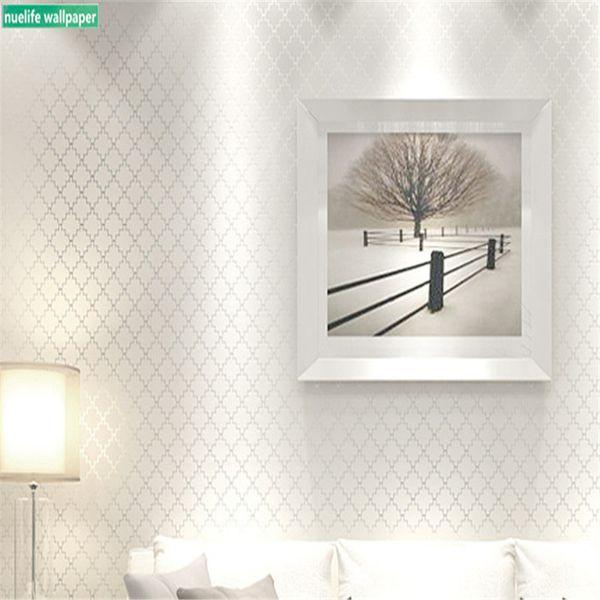 Compre Papel Tapiz No Tejido Minimalista Moderno 3d Dormitorio