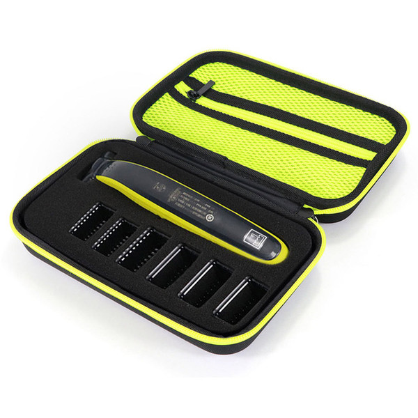 Wholesale philips norelco resale online - peaker Accessories Electric Shaver Razor Box EVA Hard Case Trimmer Shaver Pouch Travel Organizer Carrying Bag for Philips Norelco One Bla