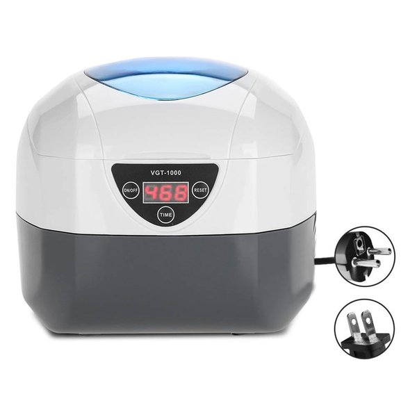 Nail Tool Jewelry Cleaning Machine Watch Eyeglass False Teeth Ultrasonic Cleaner