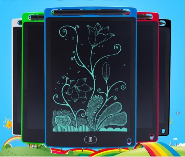 top popular FREE DHL 8.5 inch Writing Tablet Drawing Board Blackboard Handwriting Pads Gift for Kids Paperless Notepad Tablets Memo With Upgraded Pens 2021