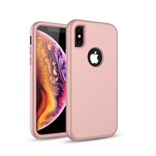 Hot Selling Phone Accessory Case Custom Silicon Rubber Shockproof Cell Phone Case For iPhone X XR