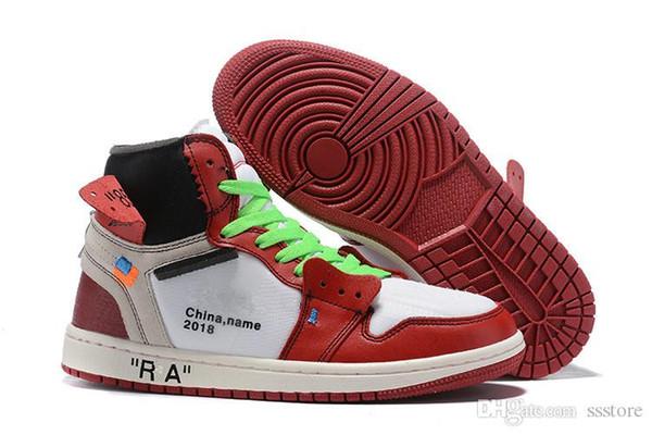 2019 новость распродажа OG 1s Баскетбольные кроссовки игра Royal Banned Shadow Bred Red Blue Toe дешево Мужчины 1s Разрушенная задняя панель Ретро кроссовки ssstore