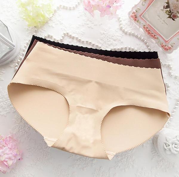Gepolsterte Unterhose vor und nach Gewichtsverlust