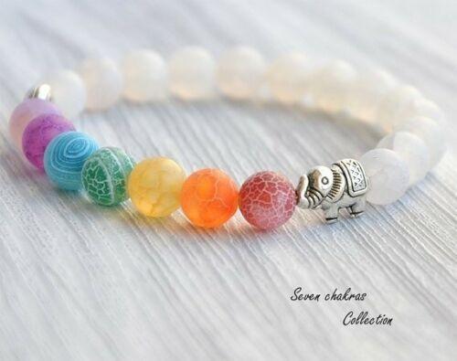 New Fashion 7Chakra Healing Balance Beads Bracelet Yoga Life Energy Bracelet Lovers Jewelry Free Shipping
