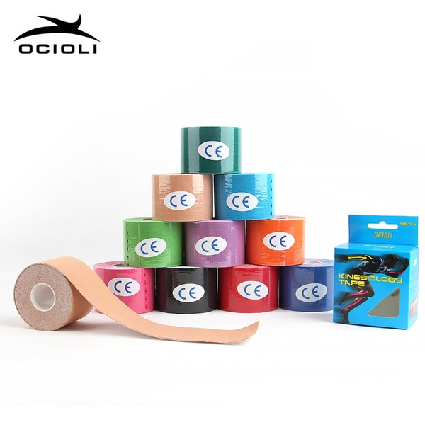 6 Rolls Kinesiotape Athletic Tapes Kinesiology Tape Sport Taping Strapping Good Quality Football Exercise Muscle Kinesiotextape