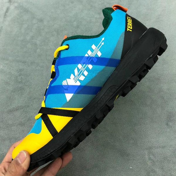 Brand Mens Terrex Agravic Kith Boost for Men Sneakers Men's Outdoor Climbing Moutain Shoes Man Hiking Shoe Male Trekking Mans Camping