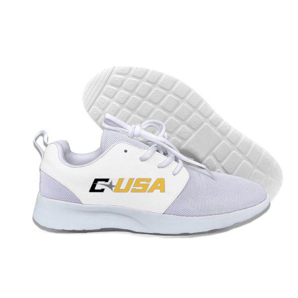 C USA Southern Miss Golden Eagles Men/women custom causal mesh Summer Comfortable light weight shoes