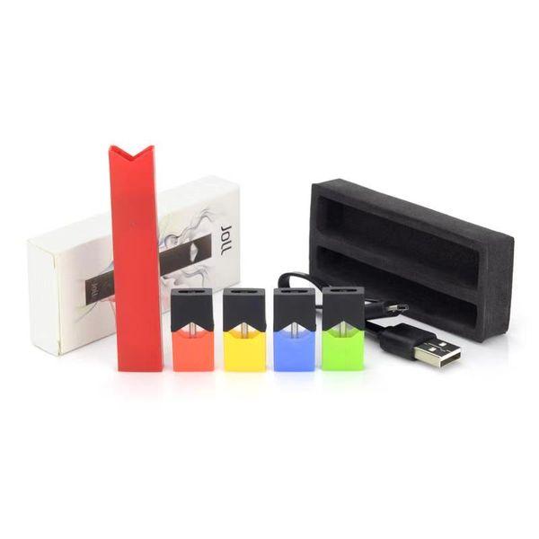 Vape JOLL Starter Kits 280mAh Kompatibel mit Raucher-Stiftakku USB-Ladegerät Patrone Pods Einweg-Vape Pen Kits