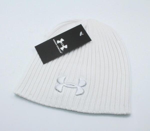 Gorros hombres otoño invierno dura cabeza de punto gorras deportivas al aire libre sombreros gris negro
