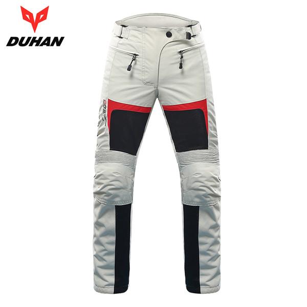 Duhan motocicleta calças mulheres calças de motocross respirável moto pantalon calças equipamentos de proteção equitação moto