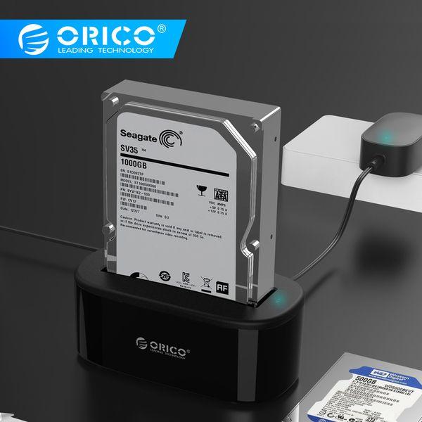 disco rigido Orico stazione HDD USAP 5Gbps Super Speed USB 3.0 a SATA Hard Drive Docking Station per 2.5 '' / 3,5 \
