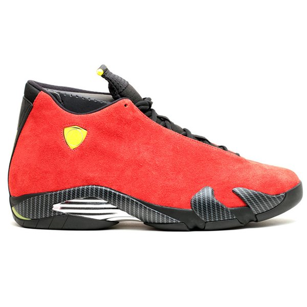 B9 Red Suede