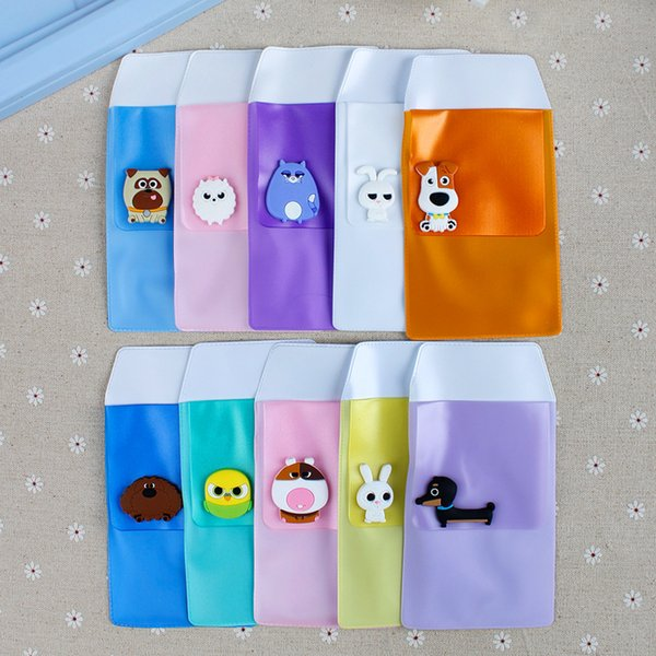 1 Pcs Cartoon Anime Sumikko Gurashi Sealing Frosted Pencil Case Doctor Nurse Pen Holder Cover Sleeve Pencil Bags Stationery