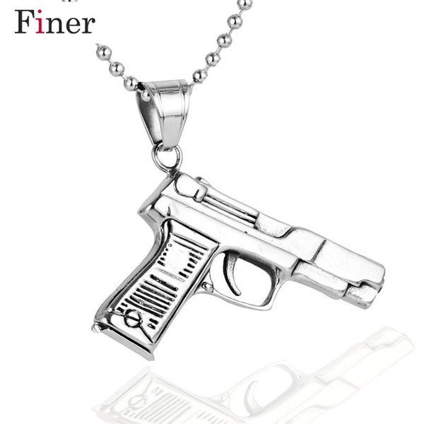Brand Statement Necklaces & Pendant for Men personalized Punk Stainless Steel Chain Fashion jewelry 2018 new arrival