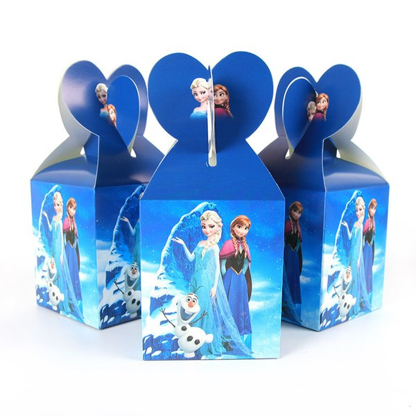 30 шт. / лот партия бумаги коробка конфет дети День рождения ребенка душ питания девушки День Рождения декор J190706