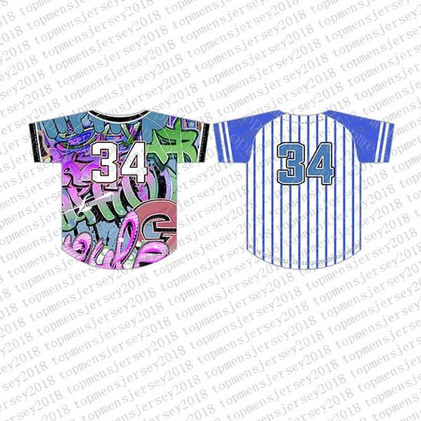 Top Custom Baseball Camisas Mens Bordados Logos Jersey uiuiuiFree Envio Barato por atacado Qualquer nome qualquer número Tamanho M-XXL 55