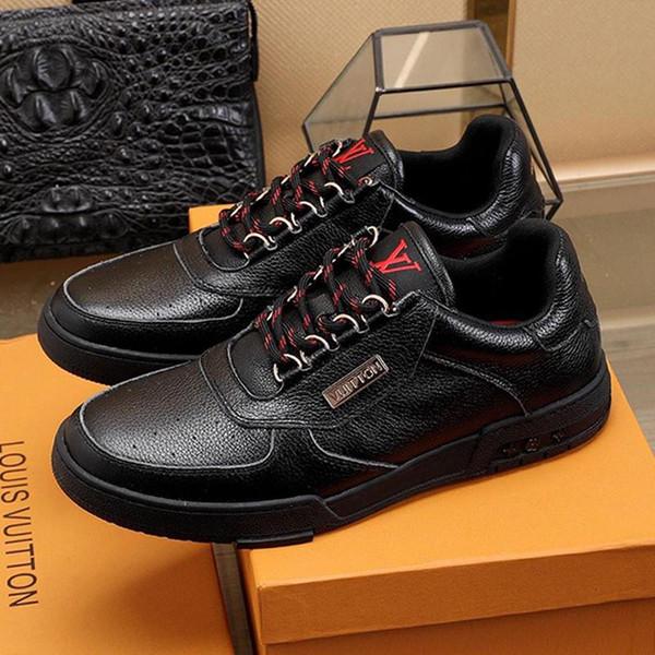 LouisVuittonLV Luxuxmann Schuh-beiläufige Breathable Turnschuhe mit Origin Box-Trainer-Turnschuh-beiläufige Schuhe der Männer Luxus Fußbekleidungen Chau