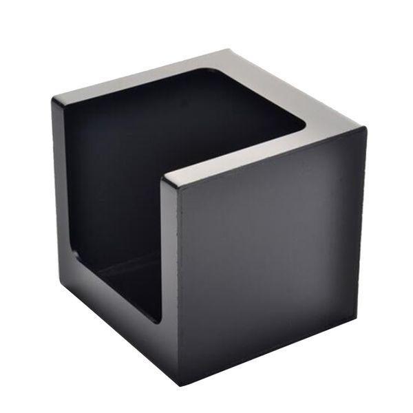 1 pc Tissue Holder Plastic Square Desktop Serviettes Container Napkin Storage Box Paper Towel Organizer for Home Office Restaurant
