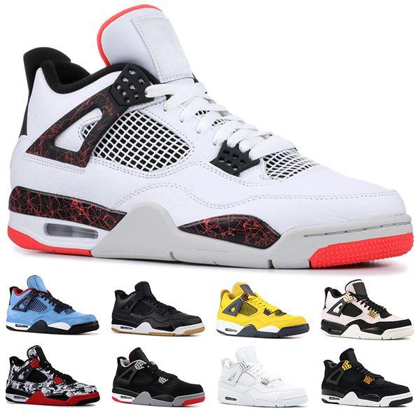Mejor Sintético Nike Air Jordan 4 Hombres Zapatos Negro Gris