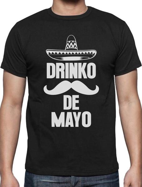 Drinko De Mayo Fiesta de la Fiesta Mexicana Idea de regalo de la camiseta del Cinco de Mayo