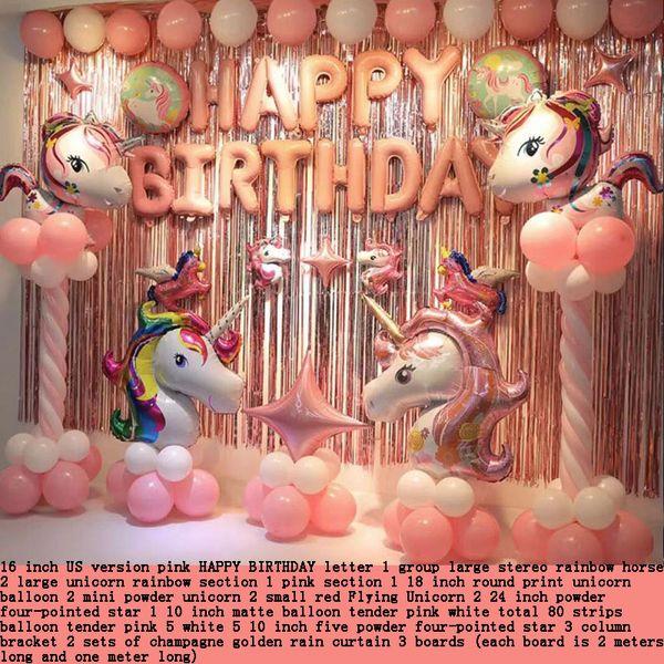 ballon, schöne, rosa, blau, lila, bunt, kindlich, vielfalt stil, regen seidenvorhang, kartonverpackung, cartoon charakter, feier
