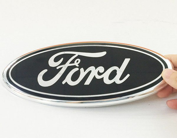 top popular NEW 2004-2014 F-150 BLACK OVAL FRONT GRILLE OR REAR TAILGATE 9 INCH EMBLEM 2021